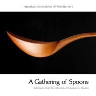 view exhibit catalog - Gallery of Wood Art