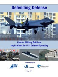Defending Defense: China's Military Build-up: Implications for U.S. ...