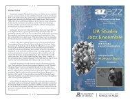 Jazz Ensemble - School of Music