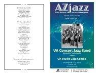 UA Concert Jazz Band