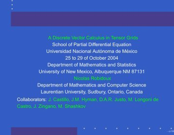 i,j,k - Department of Mathematics and Statistics - University of New ...