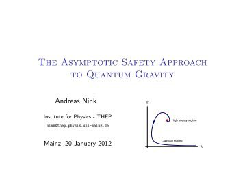 The Asymptotic Safety Approach to Quantum Gravity