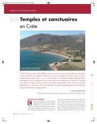 Temples et sanctuaires en Crète - ANR Dikida