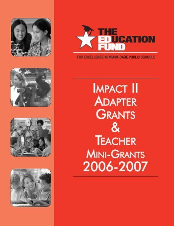2006-2007 Teacher Mini-Grants Award Booklet - The Education Fund