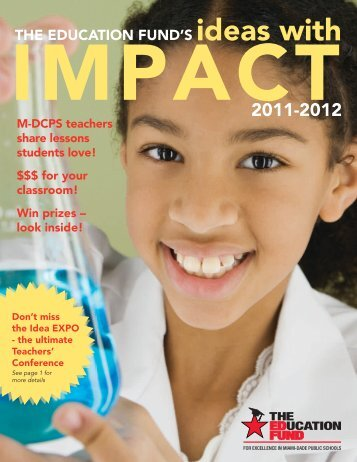 2011-12 Ideas with IMPACT Catalog - The Education Fund