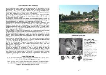 Festschrift - Blatt 3 - Kleingartenverein Karlsfeld eV