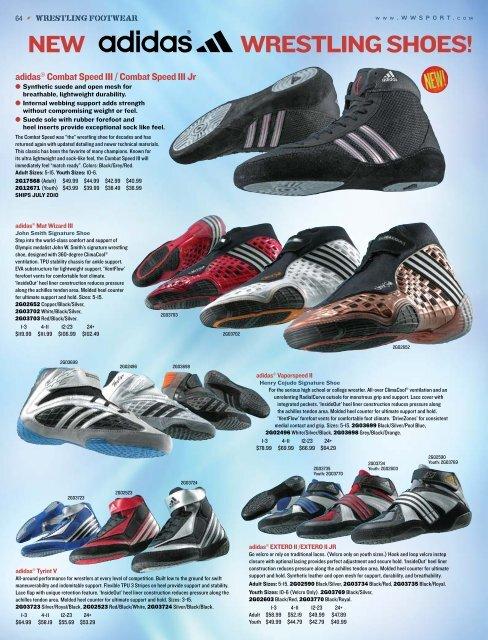 Wrestling Shoes Adidas Response II NavySlateZest