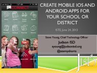 create mobile ios and android apps for your school or district