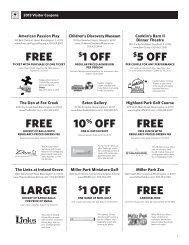 5 off free 10% off free Large $1 off free free $1 off - Bloomington ...