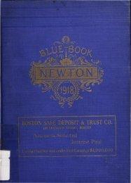 street - Newton Free Library