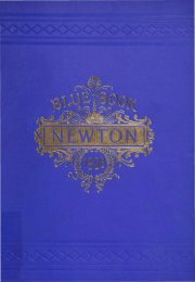 Blue Book 1908 - Newton Free Library