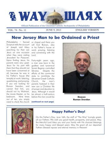 Download - Ukrainian Catholic Archeparchy of Philadelphia