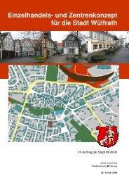 Einzelhandels- und Zentrenkonzept Wülfrath