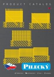 PILECKÝ s.r.o. - product catalog