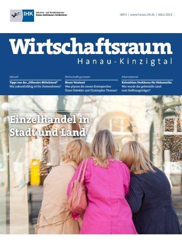 IHK Wirtschaftsraum: Ausgabe März