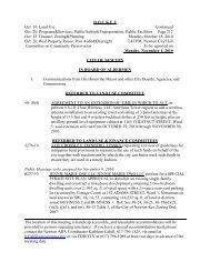 D O C K E T Oct. 19: Land Use Continued Oct. 20 ... - Newton, MA