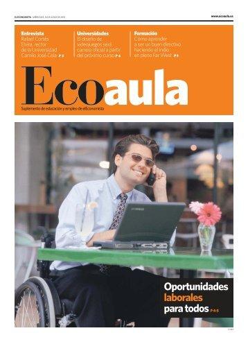 Oportunidades laborales para todos - Ecoaula.es