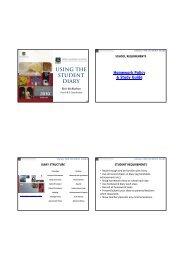 Homework Diary Slideshow (pdf) - Perth Modern School