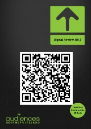 Digital Review 2013 - Audiences NI
