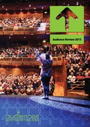 Audience Review 2013 - Audiences NI