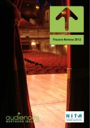 The Theatre Review 2012 - Audiences NI