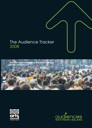 Download the Audience Tracker 2008 - Audiences NI