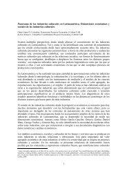1 Panorama de las industrias culturales en Latinoamérica ...