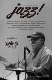 Peripheral Vision • May Cheung • John Stetch Trio ... - Yardbird Suite