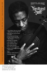 Our 36th Year - Issue 4 – September/October 2008 ... - Yardbird Suite