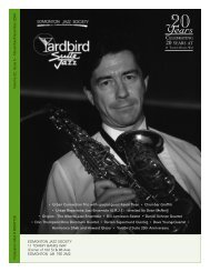 20 YEARS AT - Yardbird Suite
