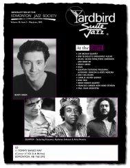 Quantum featuring Prasanna, Alphonso Johnson ... - Yardbird Suite