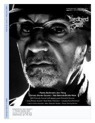 • Randy Bachman's Jazz Thing • Tomasz Stanko ... - Yardbird Suite