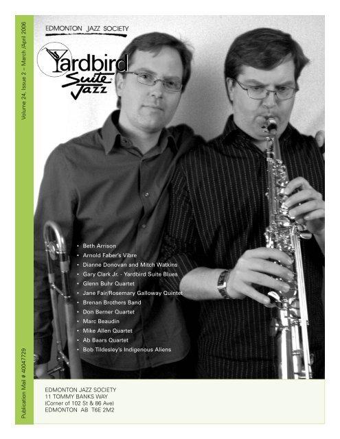 March /April 2006 - Yardbird Suite
