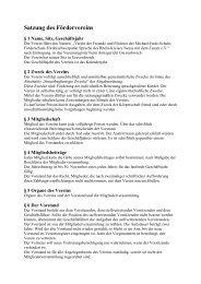 Satzung als PDF, 15 KB - Michael-Ende-Schule