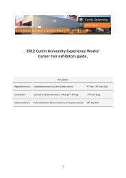 2010 Experience Works - Unilife - Curtin University