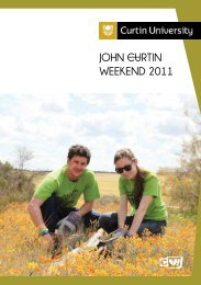 John Curtin Weekend 2011 Yearbook - Unilife - Curtin University