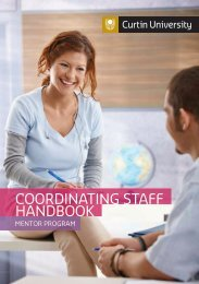 COORDINATING STAFF HANDBOOK - Unilife - Curtin University
