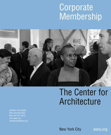 Corporate Membership - AIA New York Chapter
