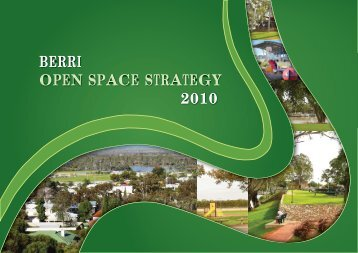 Berri Open Space Plan 2010 - Berri Barmera Council