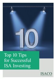 Top 10 Tips for Successful ISA Investing - ISACO.co.uk