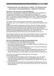 Qualifizierender Schulabschluss an Mittel- und Hauptschulen ...