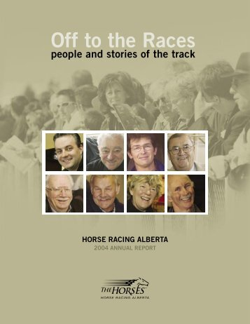 2004 Annual Report - Horse Racing Alberta