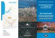 HTAA_conference2012_.. - HTAWA – The History Teachers ...