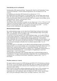 Ontwikkeling van de werkloosheid. Eind december ... - Edr-eures.info