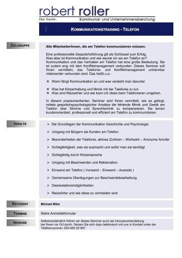 info-kommunikationstraining telefon-2014.pdf - Robert Roller