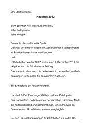 Haushaltsrede 2012 - SPD Kempten (Allgäu)