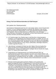 Gestaltung Weihnachtsmarkt - SPD Kempten (Allgäu)