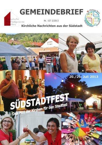 Gemeindebrief 2/2013 - Evangelische Kirche in Heidelberg