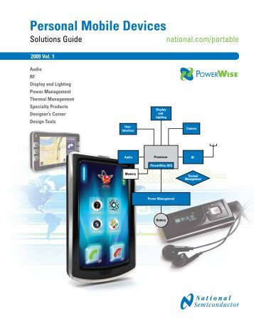 Personal Mobile Devices Solutions Guide