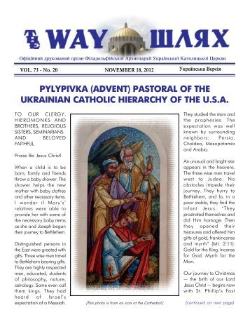 pylypivka (advent) - Ukrainian Catholic Archeparchy of Philadelphia
